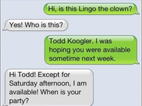 Lingo the Clown