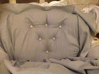 La restauration du fauteuil... le retour
