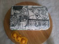 GATEAU D'ANNIVERSAIRE ONE PIECE