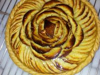 Tarte bourdaloue, Tarte aux pommes...