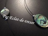COLLIER 3 RANGS ABALONE NACRE - Collier élégant composé de 3 rangs de perles grises (mat) et de coquillages abalone. Les couleurs se marieront avec la plupart de vos tenues.  Taille du plus petit tour : 15cm Taille du plus grand tour : 24cm. PRIX : 17 EUROS