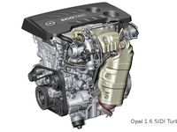 Opel 1.6 SIDI Turbo... et bien plus encore