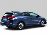 Honda Civic Tourer : hall de stockage !
