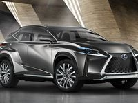 Francfort : Lexus LF-NX
