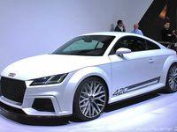 Genève : Audi TT... etc