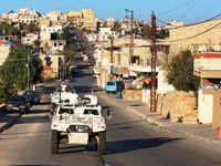 Liban : les pelotons de la FCR patrouillent avec les FAL