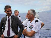 FAZSOI : visite du préfet de la Réunion sur la FS Floréal