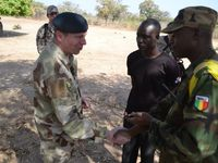 Visit of the Swedish Chief of Joint Operations Lieutenant General Göran Martensson at EUTM Mali