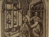 Maître E.S: gravure de Geisberg et gravure de Dresde/ Martin Schongauer: gravure de Bâle/ Retable Peter Rot/ Hans Fries: gravure de Fribourg/ Martin Schongauer: gravure de Bâle