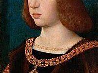 Radiographie du portrait de Chrisitan II de Danemark&#x3B; Portrait de Philippe le Beau ( Maître de la Légende de sainte Madeleine)&#x3B; Portrait de Charles Quint ( Bernard van Orley)&#x3B; détails des colliers