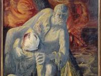 Quelques détails du triptyque d'Otto Dix