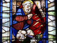 Vitraux de Notre Dame de Kergoat en Quéménéven