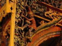 Le Jubé de la chapelle saint Fiacre - Le Faouët - 1