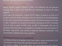 iInformations pratiques autour de l'exposition ESTAMPES DANS LA VILLE- Cliquer sur les imaqes pour les voir dans leur intégralité.