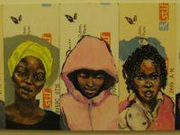Les dessins au format ticket de métro peuvent  aussi être réunis, agrandis ou réunis en albums.