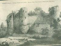 Réalisations hors Dreux du comte Robert 1 (Poursuivis par ses descendants) chateau et St Yved à Braine et chateau de Brie comte-Robert.