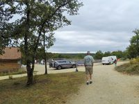 """Arrivée au """"Village Enchanteur"""" pour l'hébergement à La Chapelle Aubareil"""