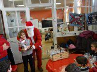 la photo avec le Père Noël