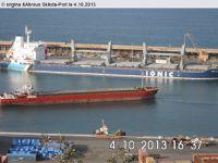 Quia...Une  manœuvre portuaire au port de Skikda