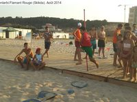 Vagues...L'été 2014, sport pour tous au Flamant rouge (Skikda)