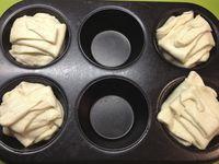 Croissants ronds fourrés
