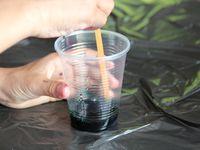 tuto : bulles de produit vaisselle et encre