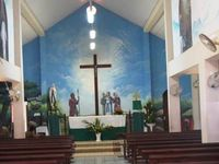 Eglise du bourg de Remire en Guyane