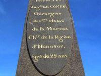 Trois chirurgiens de marine morts de la fièvre jaune en Guyane fin 1850 - début 1851 : Joachim-Louis Perbos, Hippolyte Mittre et Eugène Leconte (cliquer sur une photo pour l'agrandir)