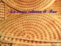 Kesra rakhsis &quot&#x3B;Constantinoise&quot&#x3B; (galette Algérienne)