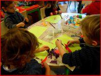 Peinture et découpage  (TPS et PS)