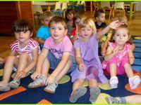 Les plus petits de la maternelle .
