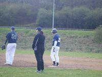 Les Seniors Baseball en préparation