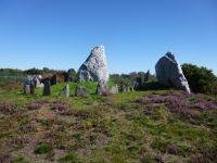 les Alignements du Moulin - le Château Bû - réunion de druidesses et druides bretons