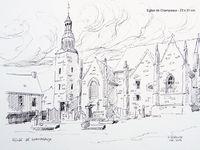 Croquis et dessins de Bretagne...