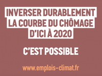 1 million d'emploi pour le climat