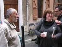 Vernissage trés réussi à Carré d'Art Cahors le samedi 2 juin 2013