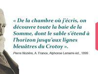 Le séminaire &quot&#x3B;Espaces et littératures&quot&#x3B; du CR2L en Baie de Somme