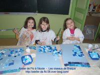 Les enfants s'envolent avec Braque