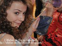 Les maquillages Smiley GRATUITS par les artistes de L'Atelier de Flo