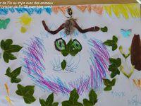 Entre stylo et animaux avec les enfants des écoles