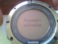 Test : Suunto Ambit 2 Sapphire, initiation à la fonction FusedAlti