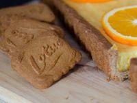 Tarte orange &amp&#x3B; spéculoos