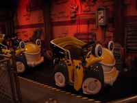 Retour à ToonTown pour Roger Rabbit's Car toon Spin (excellent !)
