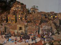 La grande crèche de Chantal Ficty à Ourches évoque avec passion les paysages du pied du Vercors à la Camargue