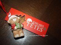 Cagette garnie de Noël...