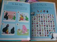 Les jeux pour enfants à la fin des livres Barbapapa autour du monde