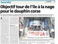 Article Corse Matin du 21 juillet 2015