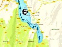 Traversée du lac d'Annecy