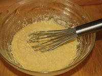 étape 3: la crème d'amandes