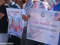 Gaza solidaire de Bilal Kayed et de Georges Abdallah !